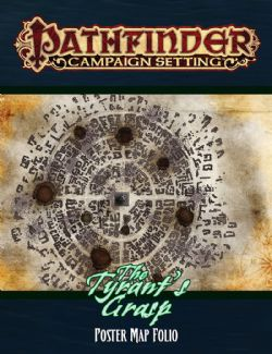 PATHFINDER -  TYRANT'S GRASP (ANGLAIS) POSTER MAP FOLIO -  CAMPAIGN SETTING