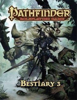 PATHFINDER -  USAGÉ - BESTIARY 3