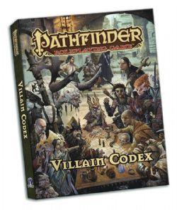 PATHFINDER -  VILLAIN CODEX ÉDITION DE POCHE(ANGLAIS)