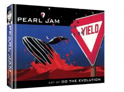PEARL JAM -  ART OF DO THE EVOLUTION HC