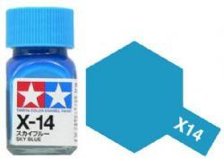 PEINTURE ÉMAIL -  BLEU CIEL (10 ML) EX-14