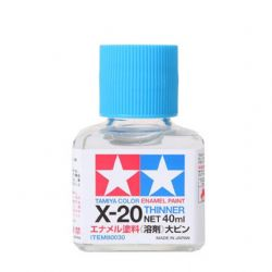 PEINTURE ACRYLIQUE -  X-20 ENAMEL THINNER (40ML)
