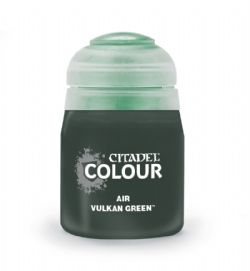 PEINTURE -  CITADEL AIR - VULKAN GREEN (24ML) 28-65