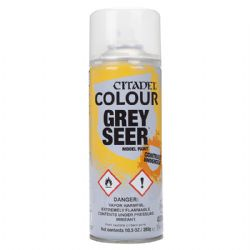 PEINTURE -  CITADEL SPRAY - GREY SEER 62-34-12