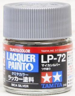 PEINTURE LAQUE -  ARGENT MICA (10 ML) LP-72