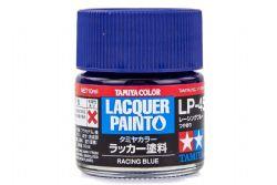 PEINTURE LAQUE -  BLEU RACING (10 ML) LP-45