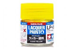 PEINTURE LAQUE -  JAUNE TRANSPARENT (10 ML) LP-69