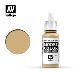 PEINTURE VALLEJO -  BUFF -  MODEL COLOR 70976