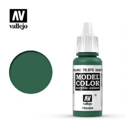 PEINTURE VALLEJO -  DEEP GEEN -  MODEL COLOR 70970
