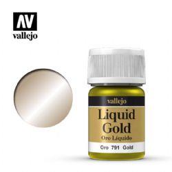 PEINTURE VALLEJO -  GOLD -  LIQUID GOLD 70791
