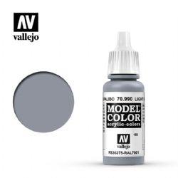 PEINTURE VALLEJO -  LIGHT GREY -  MODEL COLOR 70990