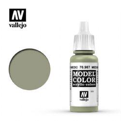 PEINTURE VALLEJO -  MEDIUM GREY -  MODEL COLOR 70987