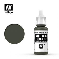 PEINTURE VALLEJO -  MILITARY GREEN -  MODEL COLOR 70975