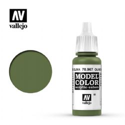 PEINTURE VALLEJO -  OLIVE GREEN -  MODEL COLOR 70967