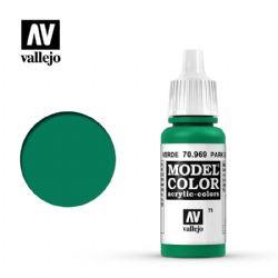 PEINTURE VALLEJO -  PARK GREEN FLAT -  MODEL COLOR 70969