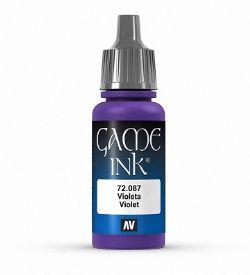 PEINTURE VALLEJO -  VIOLET -  GAME INK 72087