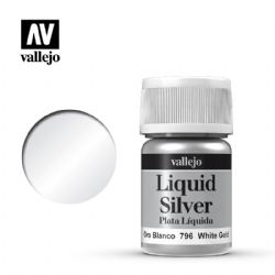 PEINTURE VALLEJO -  WHITE GOLD -  LIQUID GOLD 70796