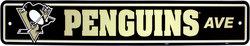 PENGUINS DE PITTSBURGH -  AFFICHE DE RUE