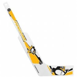 PENGUINS DE PITTSBURGH -  MINI BATON DE GARDIEN EN PLASTIQUE BLANC