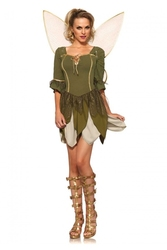 PETER PAN -  COSTUME DE FÉE CLOCHETTE REBELLE (ADULTE)