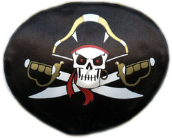 PIRATES -  CACHE-OEIL - CAPITAINE PIRATE (ENFANT)
