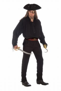 PIRATES -  COSTUME DE BOUCANIER (ADULTE - STANDARD 42)