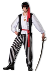 PIRATES -  COSTUME DE PIRATE (ADULTE - STANDARD 40-42)