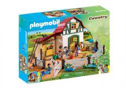 PLAYMOBIL -  ÉCURIE DE PONEYS (194 PIÈCES) 5684