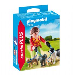 PLAYMOBIL -  ÉLEVEUSE DE CHIENS 5380