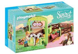 PLAYMOBIL -  ABIGAËLLE ET BOOMERANG AVEC BOX (56 PIÈCES) 9480