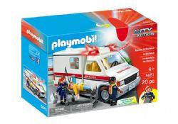 PLAYMOBIL -  AMBULANCE (20 PIÈCES) 5681