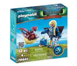 PLAYMOBIL -  ASTRID AVEC GLOBEGOBEUR (12 PIÈCES) 70041