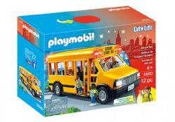 PLAYMOBIL -  AUTOBUS DE TRANSPORT SCOLAIRE (12 PIÈCES) 5680