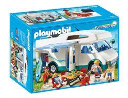PLAYMOBIL -  AUTOCARAVANE FAMILIALE 6671