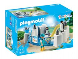 PLAYMOBIL -  BASSIN DE MANCHOTS 9062
