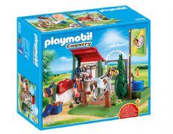 PLAYMOBIL -  BOX DE LAVAGE POUR CHEVAUX 6929