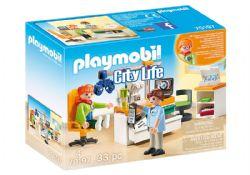 PLAYMOBIL -  CABINET D'OPHTALMOLOGIE (33 PIÈCES) 70197