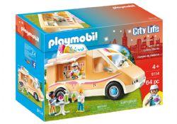 PLAYMOBIL -  CAMION DE CRÈME GLACÉE (64 PIÈCES) 9114