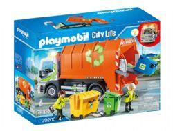 PLAYMOBIL -  CAMION DE RECYCLGAGE DES ORDURES (54 PIÈCES) 70200