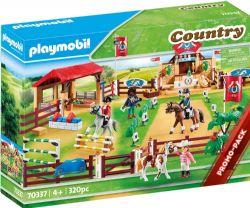 PLAYMOBIL -  CENTRE D'ENTRAINEMENT POUR CHEVAUX (320 PIÈCES) 70337 70337