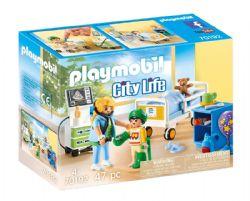 PLAYMOBIL -  CHAMBRE D'HÔPITAL POUR ENFANT (47 PIÈCES) 70192