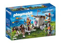 PLAYMOBIL -  CHAR DE COMBAT AVEC BALISTE ET NAINS 9341