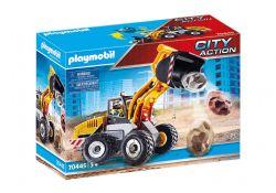 PLAYMOBIL -  CHARGEUSE SUR PNEUS (25 PIECES) 70445