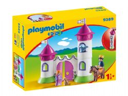 PLAYMOBIL -  CHATEAU DE PRINCESSE AVEC TOURS EMPILABLES 9389