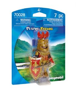 PLAYMOBIL -  CHEVALIER ROYAL (7 PIÈCES) 70028