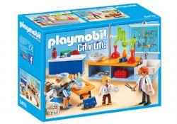 PLAYMOBIL -  CLASSE DE PHYSIQUE ET CHIMIE 9456