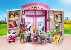 PLAYMOBIL -  COFFRE SALON DE BEAUTÉ 70109
