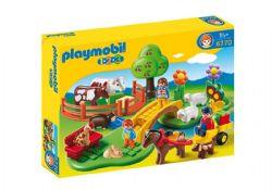 PLAYMOBIL -  COFFRET FAMILLE À LA CAMPAGNE 6770
