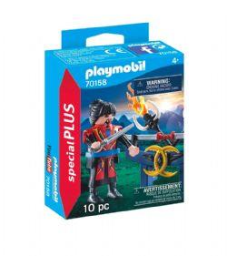 PLAYMOBIL -  COMBATTANT ASIATIQUE (10 PIÈCES) 70158