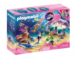 PLAYMOBIL -  COQUILLAGE LUMINEUX AVEC SIRÈNES 70095